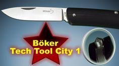 Böker Taschenmesser Tech Tool City 1 mit Glasbrecher