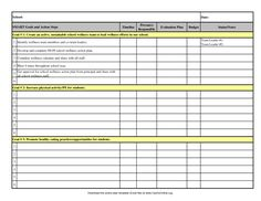 Smart Action Plan Template | Model Action Plan – Responsibility ...