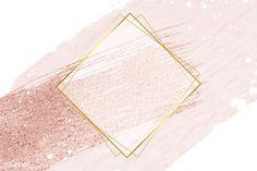 Pink And Purple Background, Confetti Background, Logo Background, Logo Geometric, Fond Design, Rose Gold Backgrounds, Glitter Frame, Pink Glitter, Gold Wallpaper