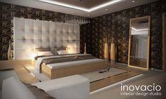 Návrh interiéru spální