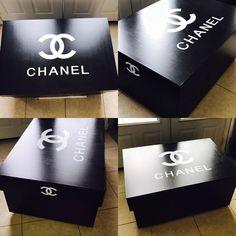 Giant Chanel Shoe Storage Box