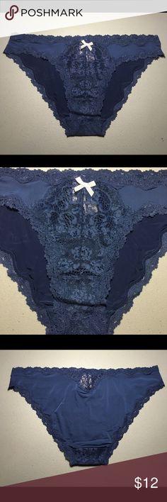 dab1901b ❤️VS Lace Trim Cheekini Panty❤ Intricate lace and a little bow make this