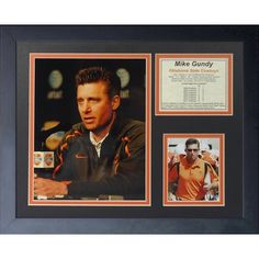 Legends Never Die Mike Gundy Oklahoma State OSU Coach Framed Memorabilia