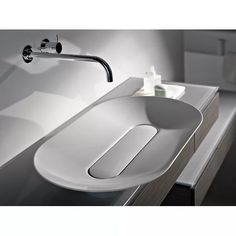 Buy online By alape, dish basin from glazed steel design Gerhard Busalt Steam Showers Bathroom, Bathroom Basin, Bathroom Hardware, Sink Faucets, Bathroom Fixtures, Sinks, Master Bathroom, Glass Showers, Washroom