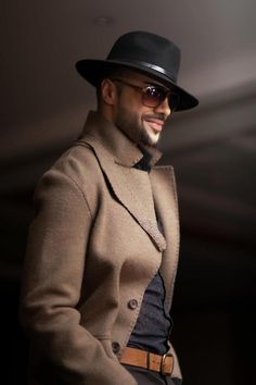 masculine and elegance man's fashion apparel gentleman style