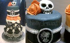 Dia de Los Muertos Cake by ilexiapsu.deviantart.com
