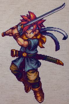 #ChronoTrigger Cross-Stitch