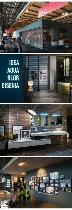 #Ideagroup Stand at Salone del Mobile, Milan 2014
