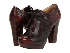 Frye Naiya Kiltie Oxford Charcoal - 6pm.com. I have never wanted a pair of shoes as bad as I want these!!!