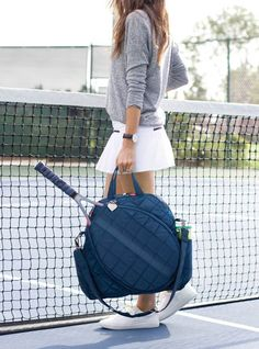 Tennis Tote – cinda b Tennis Bags, Tennis Gear, Nike Tennis Shoes, Tennis Clothes, Nike Clothes, Tennis Fashion, Sport Fashion, Stella Mccartney Tennis, Tennis Pictures