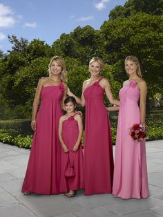 cute bridemaids dresses :)