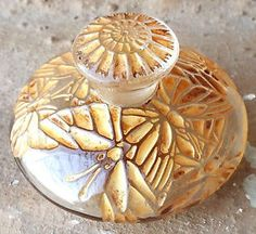Rene-R-Lalique-c1923-Misti-L-T-Piver-Rare-Vintage-Perfume-Bottle-Antique-Old