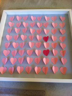 déco de mariage DIY: les coeurs à signer (livre d'or original) ~
