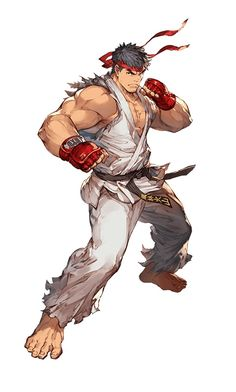 Ryu / collaboration with GRANBLUE FANTASY and Street Fighter series