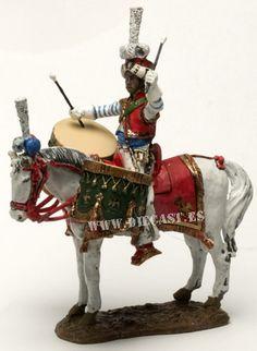 Tambor Mameluco, Guardia Imperial, Francia 1810-12, 1:30, Del Prado