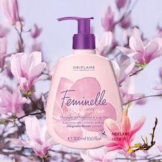30547-Feminelle blago sredstvo za intimnu negu *Nežna pH uravnotežena formula bez sapuna *Dermatološki i ginekološki testirano *Sadrži vitamine i mlečnu kiselinu