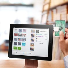 SquareUp.com  Allows you to accept credit cards on your iPhone/iPad - they will send you a reader for FREE.