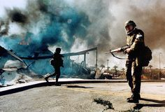 """LA Times features Patt Morrison's reflections on the 1992 riots. Morrison writes, """"In the riotous spring of 1992, the old L.A. stereotypes got taken out for another spin. Hell in paradise, death in the sunlit promised land."""""""