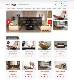 This interior design and furniture WordPress theme includes a responsive layout, unlimited colors, a shortcode generator, WooCommerce support, a clean design, more than 250 Font Awesome icons, and more.