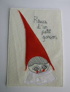 one of my first textile collages...  (by cara carmina)