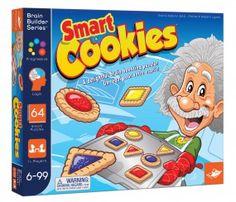 Smart Cookies | 64 frische Logikrätsel in verlockendem Keks-Format, die den Geist in Schwung bringen. Jedes Rätsel enthält logische Hinweise, aus denen sich schließen lässt, wie die 9 Kekse auf dem Tablett zu platzieren sind. | Erhältlich bei www.kultstuecke.com