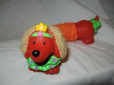 Fisher Price Little People RARE Circus Amusement Park Zoo Animals STRETCHABLE Stretching Trick Dog Orange Touch & Feel VERY RARE Amusement Park Circus Collectible Animal OOP Little People http://www.amazon.com/dp/B00T2ETG8W/ref=cm_sw_r_pi_dp_cEZFvb0C69WDP