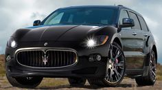 "We originally wanted to title this article, ""Why would Maserati and Bentley want to sell SUVs?"" Then we recalled the words of famous felon Willie Sutton who responded, when asked why he robbed banks, ""Because that's where the money's at. Maserati Suv, Lamborghini, Ferrari, Suv Trucks, Luxury Suv, Amazing Cars, Fast Cars, Sport Cars, Motor Car"