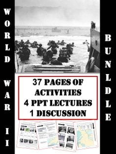 A series of interactive activities packages, powerpoint lectures and Smartboard activities.   Themes covered:   - The Road to War - Germany during the 1930s and Hitler's rise to power. - The War Begins - Events from 1939 - 1941.  - From D-Day to Victory - Events from 1944 - 1945 - The Holocaust  - Germans Against Germans - A study of senior Nazi figures and those who opposed them.