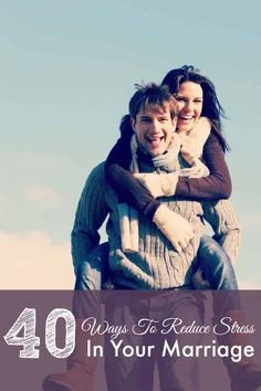 Do you ever feel like your marriage is the most stressful part of your life? Today I'm sharing 200 ways to reduce stress in marriage. Marriage is one of the Communication In Marriage, Intimacy In Marriage, Biblical Marriage, Marriage Advice, Military Marriage, Military Relationships, Relationship Tips, Ways To Destress, Ways To Reduce Stress