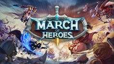 MARCH OF HEROES iOS / Android Gameplay