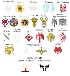 Dragon Age Crest Super Pack by TheDalishRanger