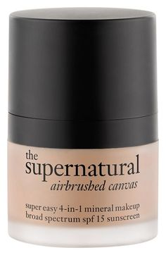 philosophy 'the supernatural airbrushed canvas' 4-in-1 mineral makeup broad spectrum SPF 15