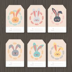 Easter Tags  Easter Gift Tags  EDITABLE Tags  by printablelovers