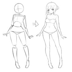 anime female body reference path decorations pictures full path