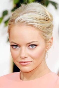 Smoky liner on upper lashlines accentuates eyes in a pretty way... as seen on Emma Stone