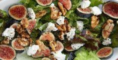 Σαλάτα με ρόκα, σύκα και κατσικίσιο τυρί | BriefingNews