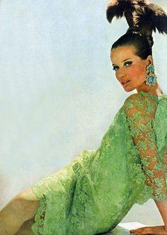 Veruschka by Bert Stern. Vogue 1966