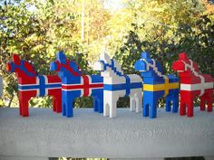 Lego Dala Horses. Hey, someone should star these guys in a movie!