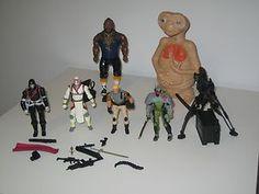 #1980s Toys - Mr. T, STAR WARS -- E.T. #scifi
