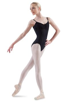 L2055- Seamed Cami Leotard with Gathered Bust-  Women's Dancewear & Accessories - Bloch® US Store
