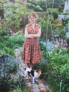 Alys Fowler - The Edible Garden (UK Show, found on youtube) She's all about growing useful/edible flowers, vegetable, & fruits.