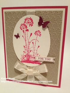 Stampin' Up! Serene Silhouettes for you card made for any occasions