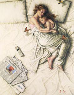 Boş Lauri |  Amerikalı ressam Figuritism Romantik
