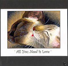 SIAMESE CAT VALENTINE'S DAY CARD BY SUZANNE LE GOOD | eBay