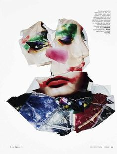 Beauty Reconstructed the Abstract Art of Collage Codie Young by Ben Hassett for Vogue Russia Vogue Photography, Beauty Photography, Digital Photography, Fashion Sketchbook, Art Sketchbook, Pop Art Fashion, Fashion Ideas, Sketchbook Inspiration, Daily Inspiration