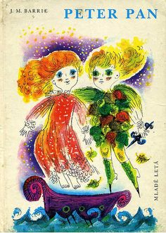 18 slovak book cover, Oľga Čechová, Peter Pan by 50 Watts, via Flickr