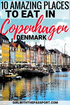 Part of planning Copenhagen Denmark travel is deciding what Copenhagen Denmark things to do and finding the best Copenhagen Denmark places to eat. So before you plan your Copenhagen Denmark trip, check out this post and learn about some great cafes and local places to eat. #Copenhagen #Denmark #travel #foodie #Europe #wanderlust