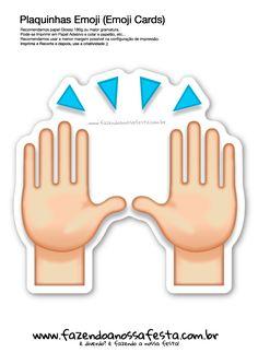 Plaquinhas Emoji Whatsapp 11