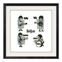 Cross stitch the Beatles