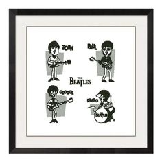 Cross stitch the Beatles